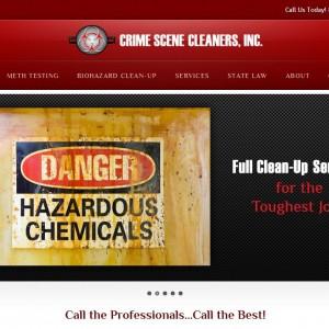Crime Scene Website
