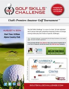 Golf Skills Challenge Full Page Ad