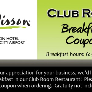breakfast coupon